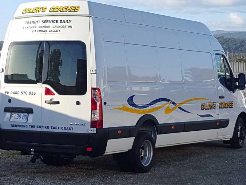 Calows Coaches Tasmanian Freight Service