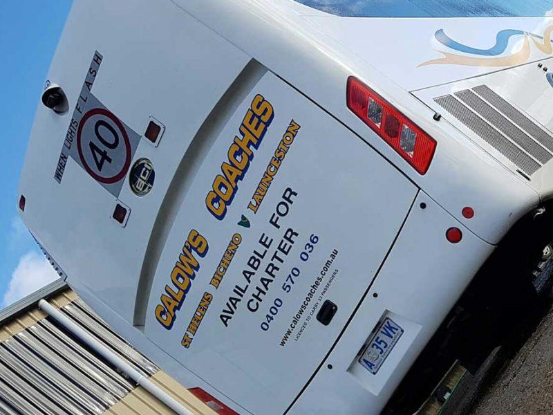 Calows Coaches Tasmanian Charter Service